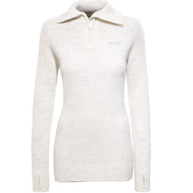 Bergans Ulriken Sweat-shirt Femme, white mel